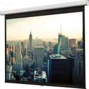 Ecran de projection mural 127 x 170 cm - Ecran manuel de 1.7 à 2.95 m - Format image 4/3 ou 16/9