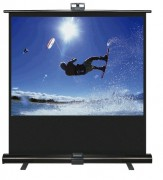 Ecran de projection transportable à poser - Réglage de la hauteur - Garantie 5 ans