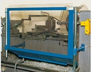 Ecran de protection arrière du tour d'usinage - Largeur standard : 870 mm