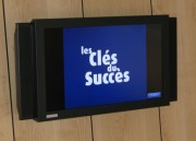Ecran LCD pour vitrine - Ecran LCD d'intérieur avec son