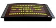Ecran plat d'affichage lumineux - Noir