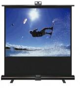 Ecran projection portable - Taille image (H x L) cm : 87 x 155 ou 100 x 177