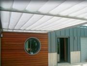 Ecrans anti solaires exterieurs sur toiture - Bloque les 3/4 de l'énergie solaire à l'extérieur
