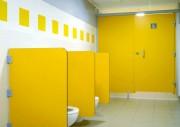 Ecrans urinoirs stratifié enfants