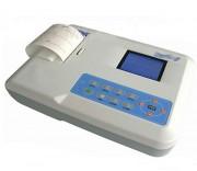 Electrocardiographe portable - Multipistes - Visualisation : 3, 6 et 12 dérivations
