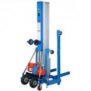 Elévateur à fourche manuel ou électrique - Capacité de lavage jusqu'à 400 kg / jusqu'à 8 m de hauteur