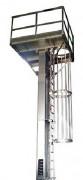 Élévateur à godets basculants - Débit jusqu'à 50 tonnes/heure