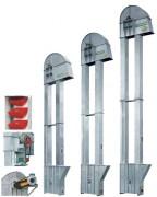 Élévateur à godets pour produits en vrac  - Levage et convoyage vertical de matériaux vrac