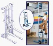Elevateur de charge 4.20 mètres - Levage de charges jusqu'à 4,20 m - Disponible avec 3 structures de base différentes