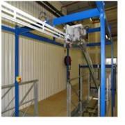 Elévateur de cintres - Manutention aérienne pour stockage de linge
