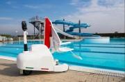 Élévateur de piscine mobile sur batterie - Dispose de 8 niveaux de sécurité