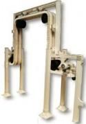 Elévateur-descendeur de flacons - Protection amont/aval