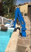 Elévateur fixe de piscine - Rotation siège automatique