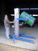 Elévateur manuel à fourche - Capacité de charge 300 à 500 kg