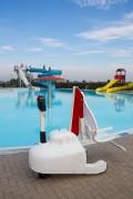 Elevateur mobile handicapé piscine - Dispose de 8 niveaux de sécurité