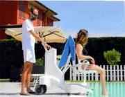 Elévateur PMR pour piscine - Fixe ou mobile