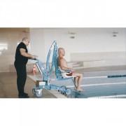 Élévateur pour piscines mobile - Capacité de levage : 136 kg - Garantie 2 ans