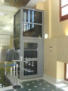 Elévateur vertical - Installation rapide : Sans travaux (génie civil)