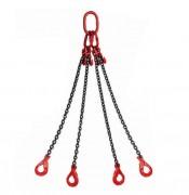 Elingue chaîne à 4 brins - Longueur : de 1,5 à 4 m