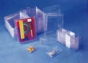 Emballage blister plastique - Largeur (mm) : De 50 à 284 - Hauteur (mm) : De 36 à 375