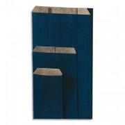 EMBALLAGE Paquet de 250 sachets kraft bleu 15 x 25 x 7 cm - PAS DE MARQUE