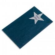 EMBALLAGE Paquet de 250 sachets kraft bleu 24 x 39 x 7,5 cm - PAS DE MARQUE