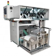 Emballeuse de monnaie industrielle - 16 distributeurs de monnaies haute vitesse (10 monnaies/sec)