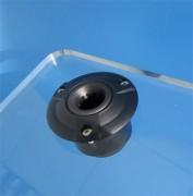 Embase anti vibratoire pupitre plexi - Pour micro de 19 à 20 mm de diamètre