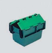 Emboîtable à couvercle en polypropylène - 10010