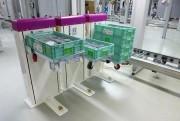 Empileur dépileur de bacs - Elévateur lève bacs mise à niveau constant