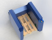 Empileur dépileur de palettes - Charge : 5 palettes
