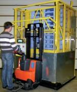 Empileur dépileur mobile - Capacité 15 palettes