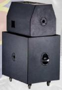 Enceinte amplifie SUB-3845 - Enceinte amplifie SUB