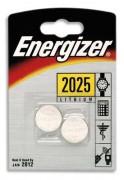ENERGIZER Blister 2 piles CR2025 - Energizer