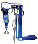 Enfonce pieux hydraulique à percussions - Pour mini pelle et télescopique  de 0,8 à 3 tonnes