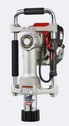 Enfonce pieux thermique à percussions portatif - Moteur thermique intégré sur l'enfonce pieux