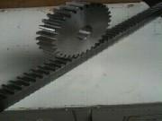 Engrenage crémaillère - Taillage d'engrenages  de gros diamètres