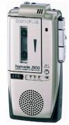 Enregistreur portable Olympus J500 - Alimentation : 2 piles 1,5V