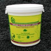 Enrobé bitume à froid végétal noir - Consommation : 20 kg/m² sur 1cm d'épaisseur/seau de 25 kg