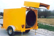 Enrobeuse bitume thermique - Cuve de 1000 Kg - Moteur thermique