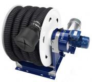 Enrouleur à ressort semi-automatique - Avec tuyau flexible anti-écrasement