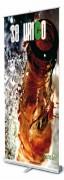 Enrouleur affiche bannière d'exposition - Dimension (Lxh) : 850 x 2060 mm
