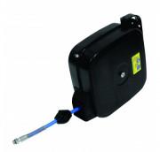 Enrouleur automatique à air comprimé - 15 mètres de flexible caoutchouc DN 8