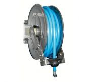 Enrouleur automatique inox pour tuyau - Dimensions (L x l x H) mm : 260 x 600 x 500