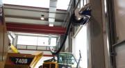 Enrouleur avec tuyau flexible - Semi-automatique