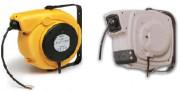 Enrouleur de câble à rappel automatique - Tension d'isolation du collecteur 2,5 kV