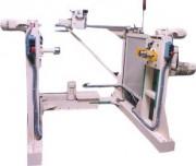 Enrouleur dérouleur entre pointes vertical - Bati réalisé en tubes mécanosoudés
