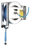 Enrouleur inox - Diamètre (intérieur/extérieur en mm) : 8 x 17