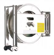 Enrouleur inox sans tuyau - Sans tuyau - pour tuyau de : 15 ou 20 mètres