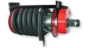 Enrouleur pour aspiration de gaz d'échappement - Enrouleur avec ventilateur